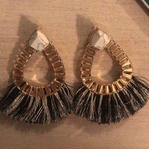 Bauble bar drop earrings